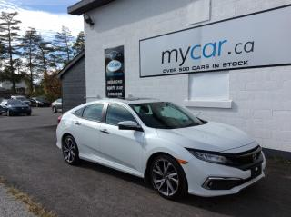 Used 2019 Honda Civic Touring SUNROOF. NAV. ALLOYS. LEATHER. HEATED SEATS. for sale in Richmond, ON