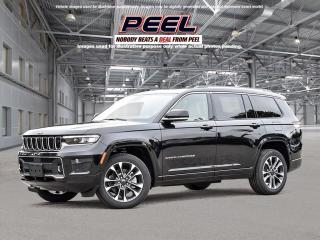 New 2021 Jeep Grand Cherokee L Overland for sale in Mississauga, ON