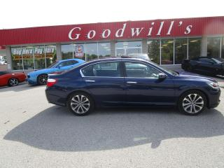 Used 2015 Honda Accord Sedan CLEAN CARFAX! POWER SEAT AND ROOF! for sale in Aylmer, ON
