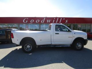 Used 2014 RAM 3500 ST REG CAB! LONG BOX! DIESEL! CLEAN CARFAX! 4X4 for sale in Aylmer, ON