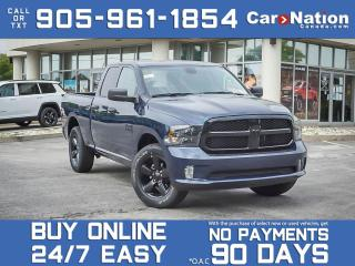 Used 2021 RAM 1500 Classic Express Night Edition 4x4| BRAND NEW| for sale in Burlington, ON