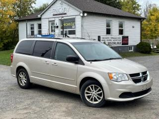 Used 2013 Dodge Grand Caravan 1-Owner SXT StowNGo Backup Cam DVD Bluetooth for sale in Sutton, ON