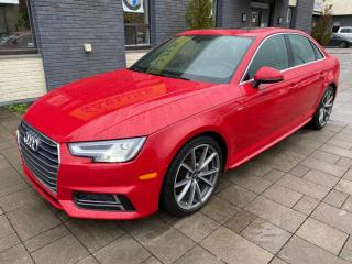 Used 2017 Audi A4 Quattro S-Line for sale in Nobleton, ON