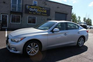 Used 2014 Infiniti Q50 LEATHER SEATS /AWD /SUNROOF /BACKUP CAMERA /APPLE CARPLY for sale in Newmarket, ON