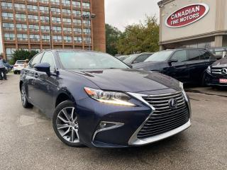Used 2017 Lexus ES 300 HYBRID | LOW MILEAGE | NAVI | CAM  | LEATHER | for sale in Scarborough, ON