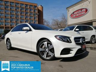 Used 2017 Mercedes-Benz E-Class E400 NAVI | CAM | PANO | WARR TILL MAY 31 | 4 NEW SNOW TIRES* | for sale in Scarborough, ON