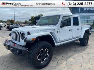 Used 2021 Jeep Gladiator Rubicon  RUBICON, LEATHER, NAV, AUTO, LOOOOOOADED for sale in Ottawa, ON