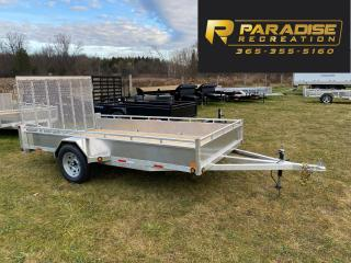 Used 2021 TRIUMPH TRAILERS SA6X12-35 ALUMINUM UTILITY TRAILER for sale in Kitchener, ON
