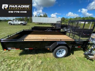 Used 2022 TRIUMPH TRAILERS SA6X12-35 STEEL PAINTED UTILITY TRAILER for sale in Kitchener, ON