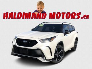 Used 2021 Toyota Highlander XSE AWD for sale in Cayuga, ON
