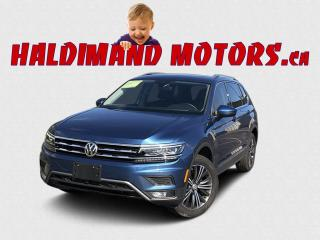 Used 2019 Volkswagen Tiguan Highline 4motion AWD for sale in Cayuga, ON