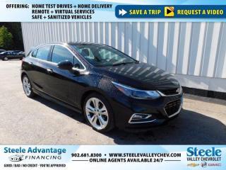 Used 2018 Chevrolet Cruze Premier-CRUISE-LOCKS-BACK UP CAMERA!!! for sale in Kentville, NS