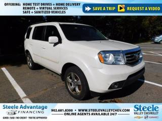 Used 2015 Honda Pilot EX-L-4WD-7 SEATER-REAR ENTERTAINMENT!!!!!! for sale in Kentville, NS