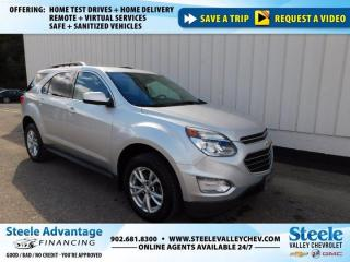 Used 2017 Chevrolet Equinox LT-ONE OWNER-DEAL MAINTAN-REAR VISION CAMERA-LOW LOW PAYMENT!!! for sale in Kentville, NS