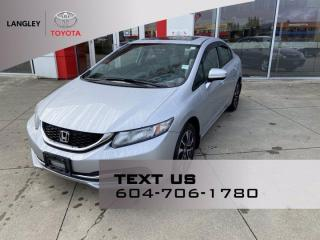 Used 2015 Honda Civic Sedan EX for sale in Langley, BC