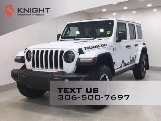Used 2021 Jeep Wrangler Unlimited Rubicon   Sky One Touch Roof   for sale in Regina, SK