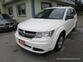 Used 2012 Dodge Journey GREAT VALUE SE-EDITION 5 PASSENGER 2.4L - DOHC.. TOUCH SCREEN DISPLAY.. AUX/USB CONNECTION.. PUSH-BUTTON-IGNITION.. KEYLESS ENTRY.. for sale in Bradford, ON