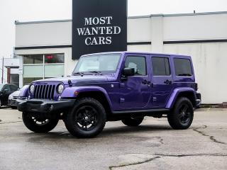 Used 2017 Jeep Wrangler 4WD | UNLIMITED | NAVIGATION | LEATHER | ALPINE SOUND for sale in Kitchener, ON