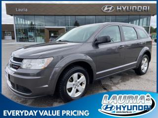Used 2015 Dodge Journey 2.4L FWD Canada Value Pkg - LOW KMS for sale in Port Hope, ON