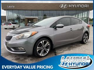 Used 2014 Kia Forte SX - LEATHER / NAVIGATION for sale in Port Hope, ON