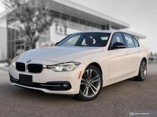 Used 2017 BMW 3 Series 330i xDrive Accident Free! Enhanced! Sport Line! Driver Assist! for sale in Winnipeg, MB