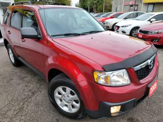 Used 2009 Mazda Tribute GX I4/AUTO/LOADED/FOG LIGHTS/ALLOYS/CLEAN CAR FAX for sale in Scarborough, ON
