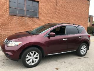 Used 2011 Nissan Murano SV/AWD/REVERSE CAMERA/DUAL SUNROOF for sale in Oakville, ON