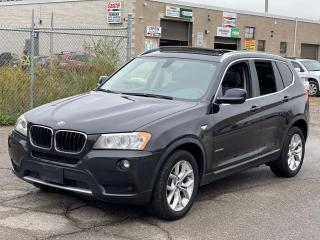 Used 2013 BMW X3 xDrive28i PANORAMIC SUNROOF/LEATHER for sale in North York, ON