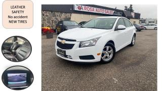 Used 2013 Chevrolet Cruze 4dr Sdn LT Turbo leather 4 NEW TIRES NO ACCIDENT S for sale in Oakville, ON