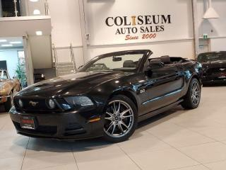 Used 2014 Ford Mustang GT CONVERTIBLE V8 5.0L AUTOMATIC-BREMBO PACKAGE!! for sale in Toronto, ON