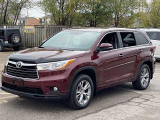 Used 2015 Toyota Highlander LE AWD REAR VIEW CAMERA for sale in North York, ON