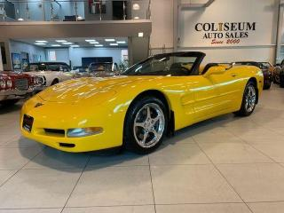 Used 2002 Chevrolet Corvette CONVERTIBLE--SHOWROOM CONDITION-ONLY 20KM for sale in Toronto, ON