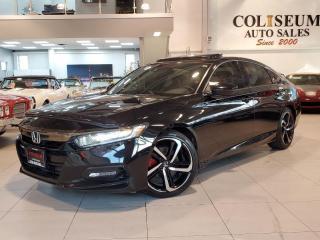 Used 2018 Honda Accord SPORT-AUTO-SUNROOF-CARPLAY-LOADED-89KM for sale in Toronto, ON