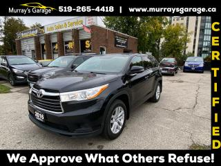 Used 2016 Toyota Highlander LE for sale in Guelph, ON