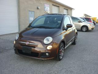 Used 2013 Fiat 500 Sport for sale in Windsor, ON