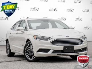 Used 2018 Ford Fusion Energi SE Luxury Energi | Navigation | Adaptive Cruise | Very Low Kms!! for sale in Oakville, ON