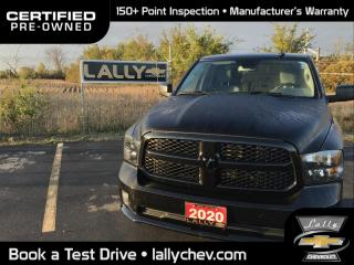 Used 2020 RAM 1500 Classic ST EXPRESS**LOCAL TRADE**4X4**HEMI**BACK UP CAMERA**C for sale in Tilbury, ON