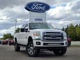 Used 2016 Ford F-250 Super Duty PLATINUM 4X4 CREW for sale in Port Hawkesbury, NS