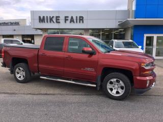 Used 2018 Chevrolet Silverado 1500 2LT Rear Vision Camera, Auto Climate Control, Remote Keyless Entry, Heated Front Seats for sale in Smiths Falls, ON
