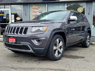 Used 2015 Jeep Grand Cherokee 4WD 4Dr Limited for sale in Bowmanville, ON