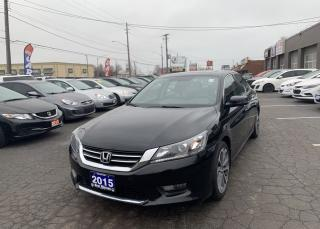 Used 2015 Honda Accord Sport for sale in Hamilton, ON