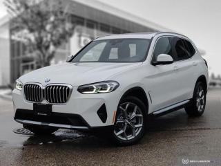 New 2022 BMW X3 xDrive30i for sale in Winnipeg, MB