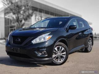 Used 2017 Nissan Murano SV AWD! Accident Free! for sale in Winnipeg, MB