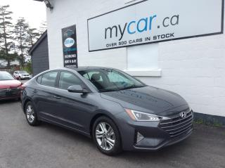 Used 2020 Hyundai Elantra Preferred ALLOYS. A/C. BACKUP CAM. HEATED SEATS. for sale in North Bay, ON