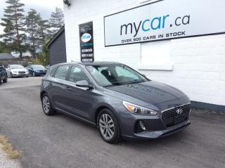 Used 2018 Hyundai Elantra GT GL ALLOYS. A/C. HEATED SEATS. BACKUP CAM. POWER GROUP for sale in North Bay, ON