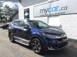 Used 2018 Honda CR-V Touring NAV. SUNROOF. LEATHER. ALLOYS. HEATED SEATS. for sale in North Bay, ON