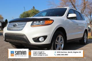 Used 2011 Hyundai Santa Fe LIMITED 3.5 LEATHER SUNROOF AWD for sale in Regina, SK