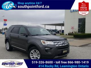 Used 2019 Ford Explorer XLT|4WD|NAV|HTD SEATS|REMOTE START|CRUISE for sale in Leamington, ON