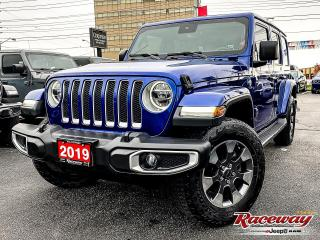 Used 2019 Jeep Wrangler   HEATED LEATHER   TOW GRP   LED LIGHTS for sale in Etobicoke, ON