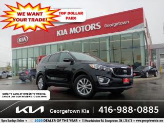 Used 2017 Kia Sorento LX | 1 OWNR | BLUETOOTH | HTD SEATS | 57 K | ALLOY for sale in Georgetown, ON